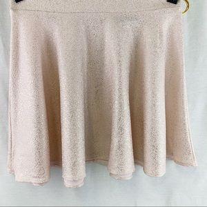 Honey Punnch Pink & Gold Shimmering Skirt